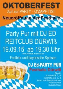 Plakat Oktoberfest 2015