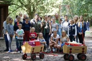 03.09.2016 Familienausflug zum Wildpark Gangelt